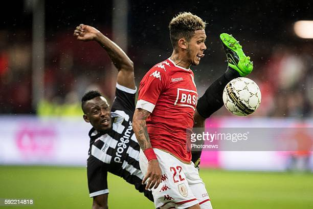 Junior Edmilson midfielder of Standard Liege pictured during Jupiler Pro League match between Standard of Liege and Sporting of Charleroi on August...