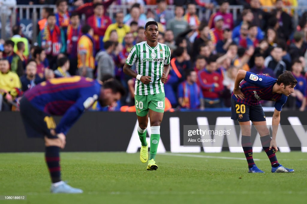 FC Barcelona v Real Betis Balompie - La Liga : News Photo