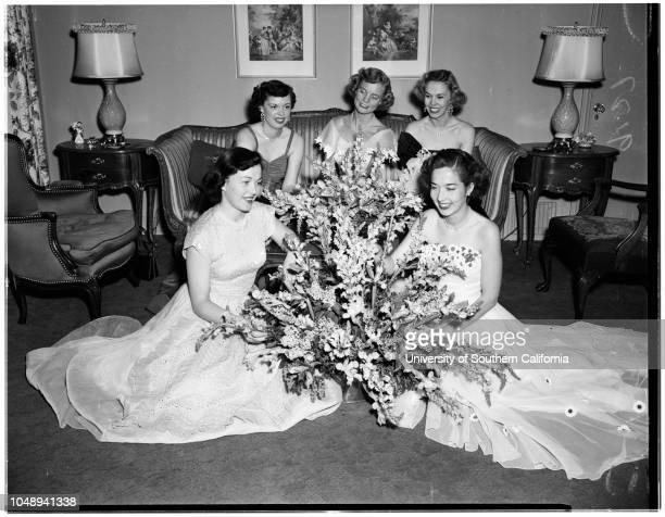 Junior Guild Girlssociety April 17 1951 Anna Marie MurphyLois MenardPeggy LyonRose KarelsonMary Anne DurkinMore descriptive information with originals