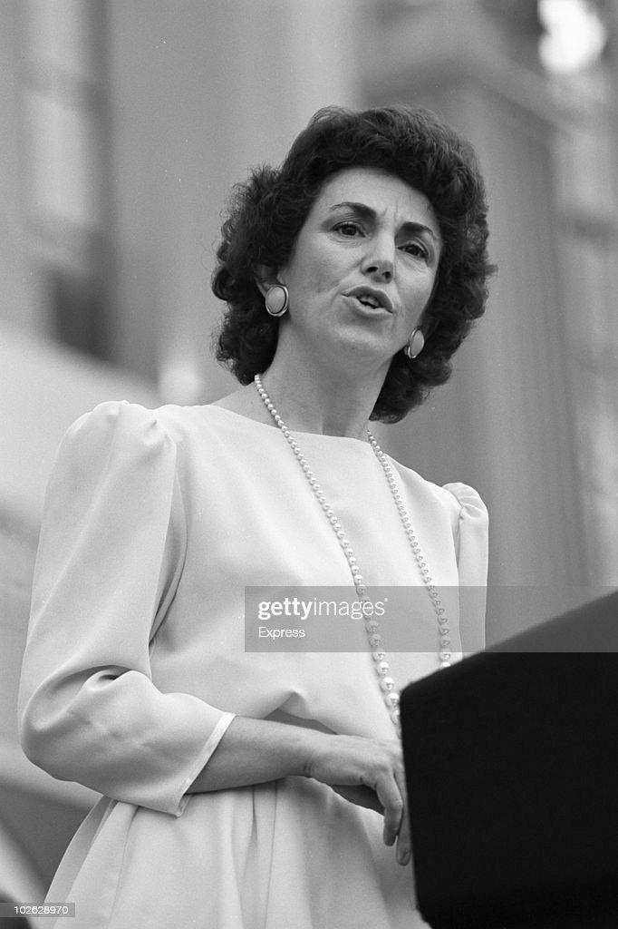 Edwina Currie Speech : News Photo