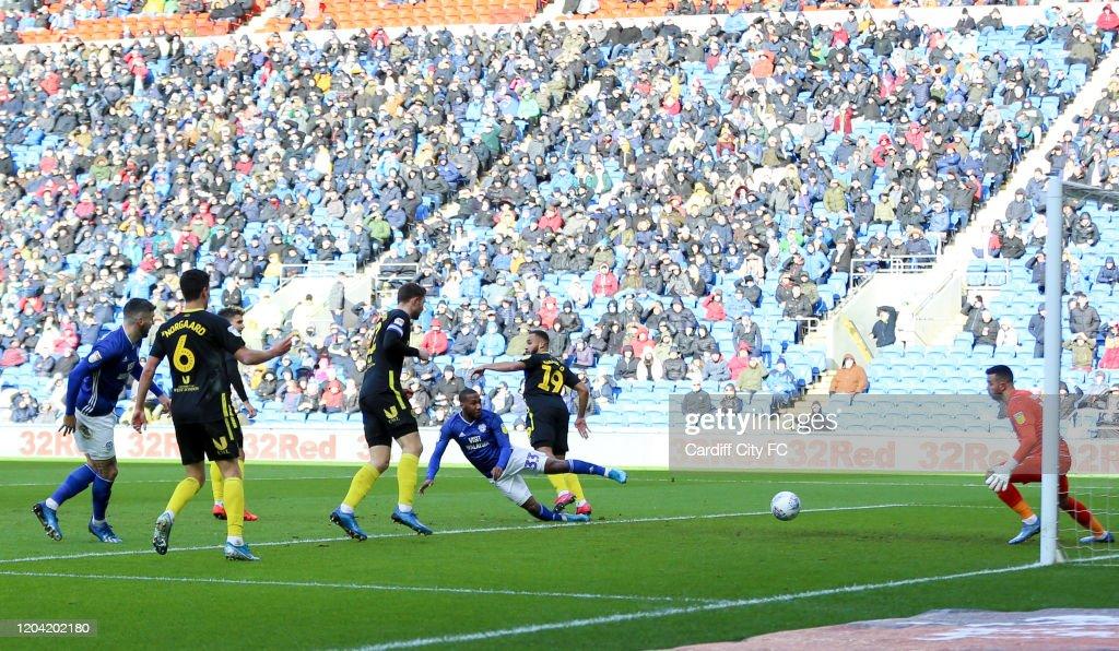Cardiff City v Brentford - Sky Bet Championship : News Photo
