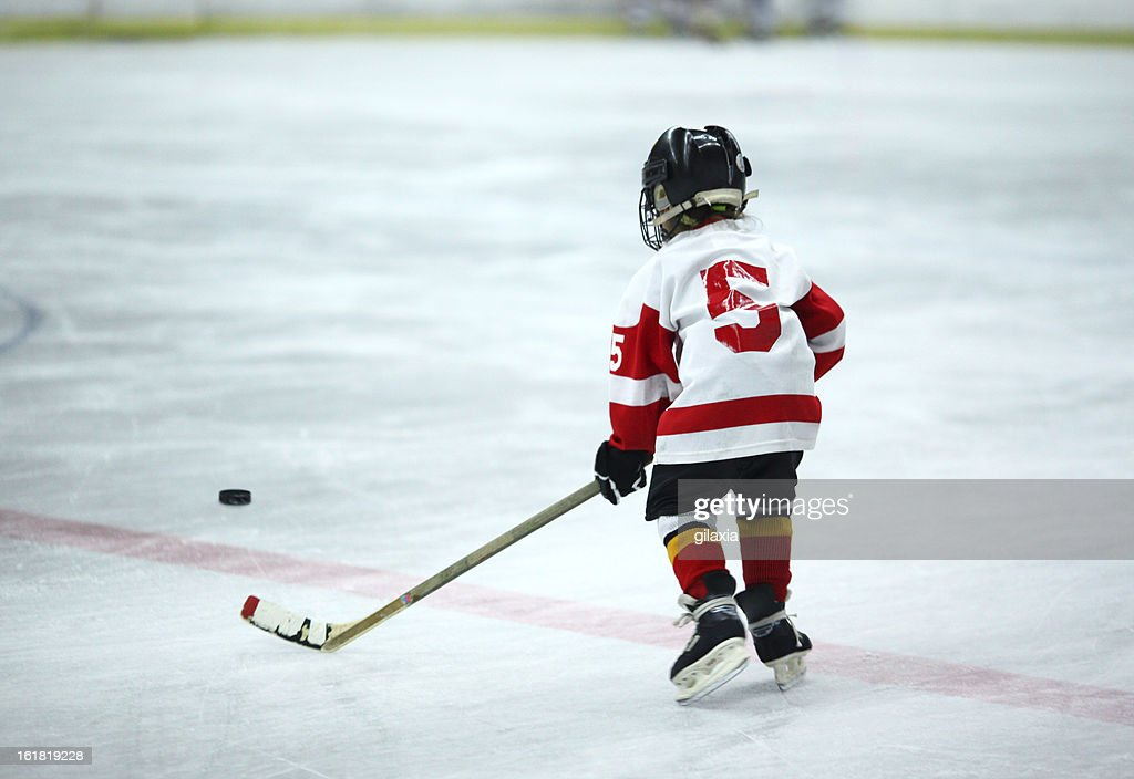Junior ice hockey. : Stock Photo