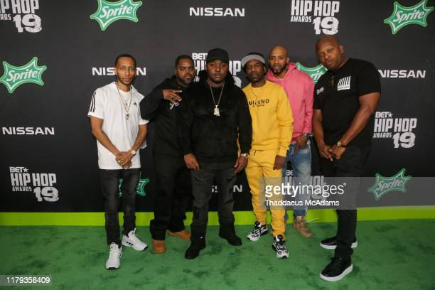 Junior Mafia arrives to the 2019 BET Hip Hop Awards on October 05 2019 in Atlanta Georgia