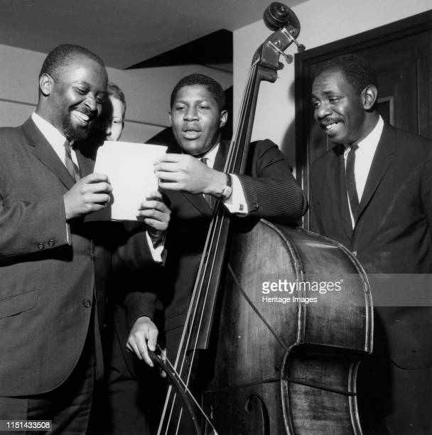 Junior Mance Trio London 1962 Artist Brian Foskett