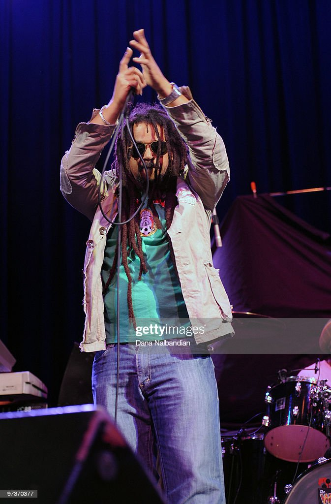 Junior Marvin of The Wailers at The Moore Theater on March 1, 2010 in Seattle, Washington.