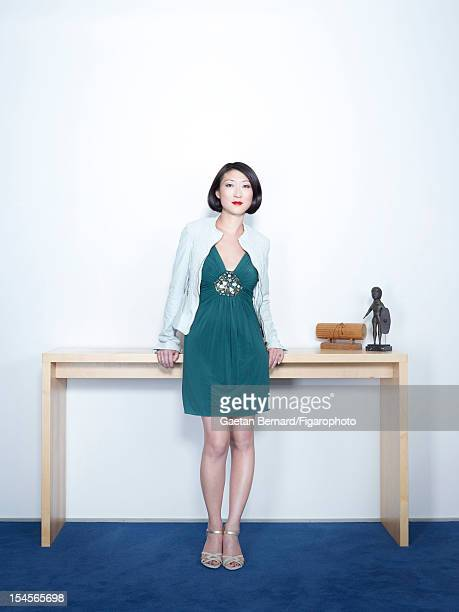 Junior Minister for Small and Medium Enterprises, Innovations and the Digital Economy, Fleur Pellerin is photographed for Madame Figaro on July 6,...