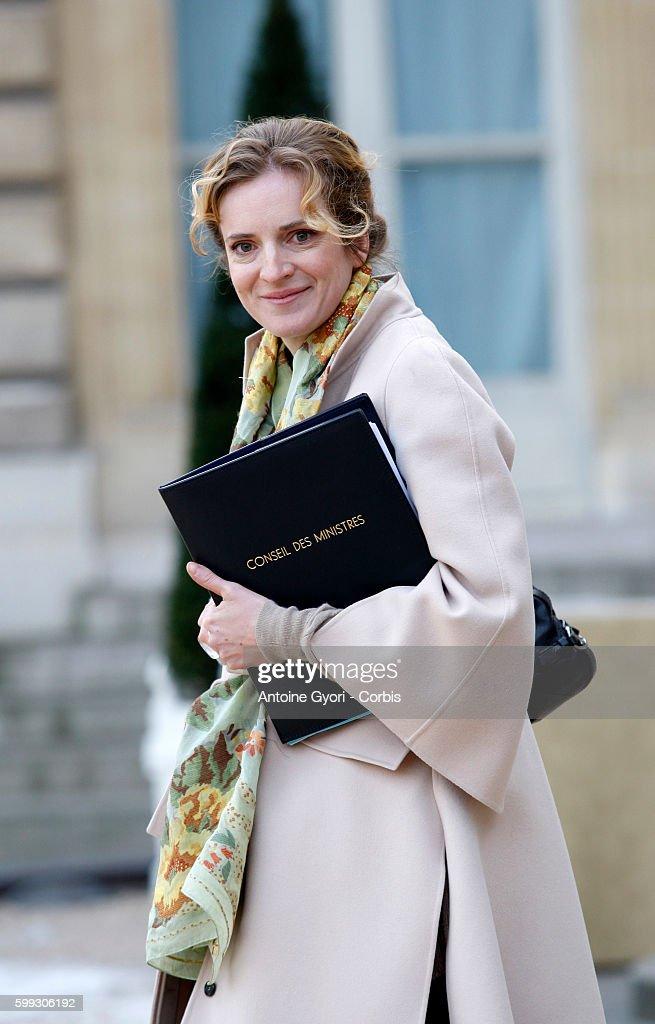 France - Junior Minister of Ecology Nathalie Kosciusko-Morizet : ニュース写真