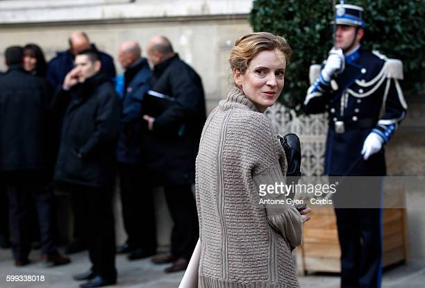 Junior Minister of Ecology Nathalie Kosciusko-Morizet leaves the Elysee Palace following French President Nicolas Sarkozy's New Year's welcome to the...