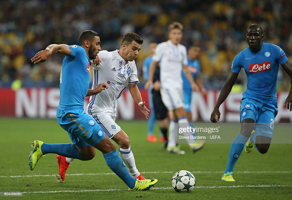 FC Dynamo Kyiv v SSC Napoli - UEFA Champions League