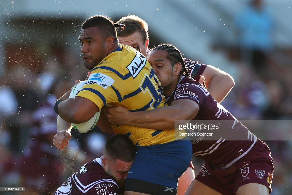 NRL Rd 18 - Sea Eagles v Eels : News Photo
