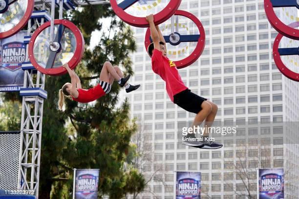 "Junior Qualifier 3"" Episode 103 -- Pictured: Ava Long , Brett Zimmerman --"