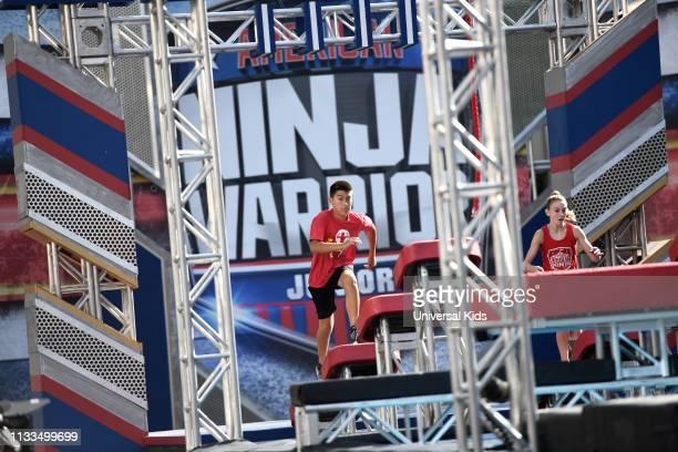 "Junior Qualifier 3"" Episode 103 -- Pictured: Brett Zimmerman , Ava Long --"