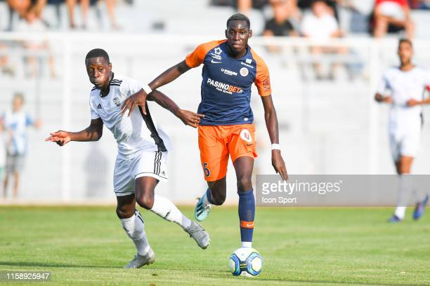 Junior Sambia of Montpellier and Samad Mouhammadou of UNFP during the Friendly match between Montpellier and UNFP on July 31 2019 in Montpellier...