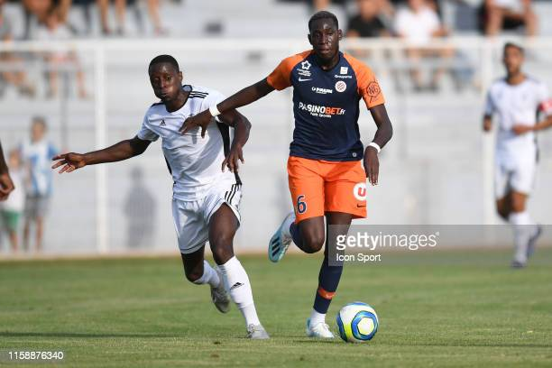 Junior Sambia of Montpellier during the Friendly match between Montpellier and UNFP on July 31 2019 in Montpellier France