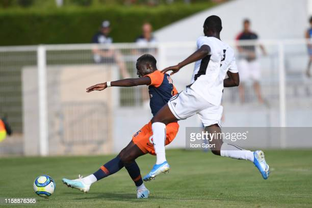 Junior Sambia of Montpellier scores the third goal during the Friendly match between Montpellier and UNFP on July 31 2019 in Montpellier France