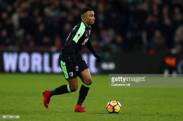 Junior Stanislas of AFC Bournemouth during the Premier League match between West Ham United and AFC Bournemouth at London Stadium on January 20 2018...