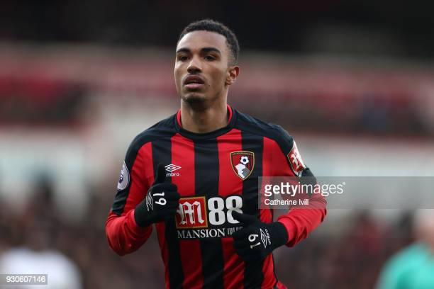 Junior Stanislas of AFC Bournemouth during the Premier League match between AFC Bournemouth and Tottenham Hotspur at Vitality Stadium on March 10...