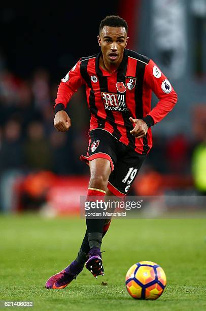 Junior Stanislas of AFC Bournemouth in action during the Premier League match between AFC Bournemouth and Sunderland at Vitality Stadium on November...