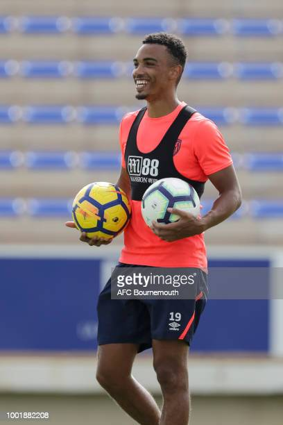 Junior Stanislas of Bournemouth during preseason training on July 19 2018 in La Manga Spain