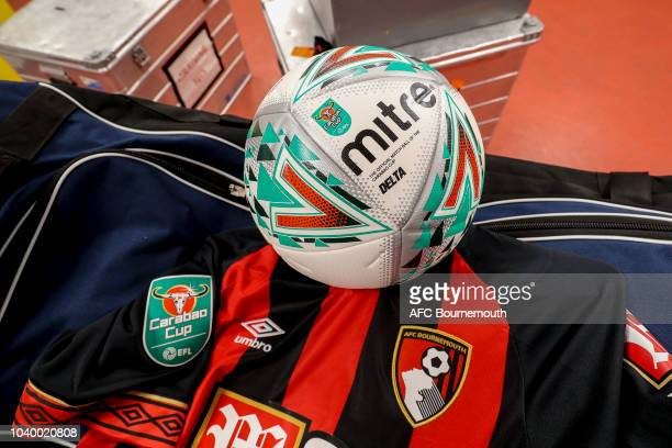 Junior Stanislas of Bournemouth during the Carabao Cup Third Round match between AFC Bournemouth and Blackburn Rovers at Vitality Stadium on...