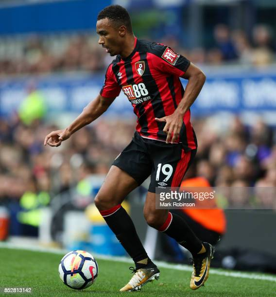 Junior Stanislas of Everton during the Premier League match between Everton and AFC Bournemouth at Goodison Park on September 23 2017 in Liverpool...