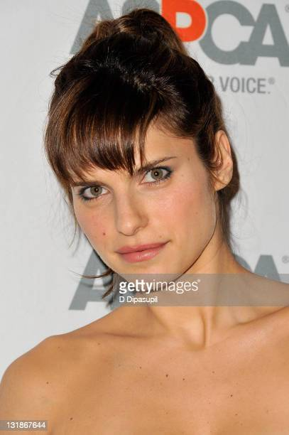 Junior Vice Chairman/actress Lake Bell attends the 14th Annual ASPCA Bergh Ball at The Plaza Hotel on April 14 2011 in New York City