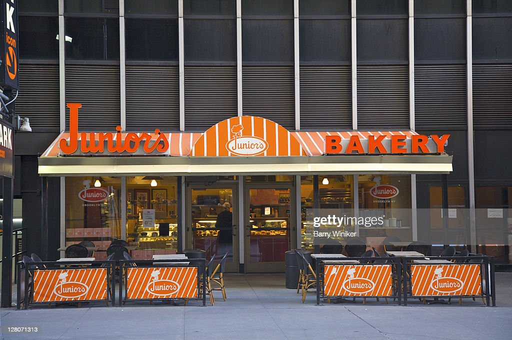 Juniors Bakery Midtown West Manhattan New York Ny Usa High