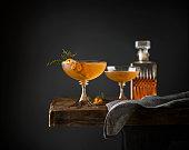 Juniper Manhattan Cocktails