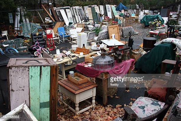 junk 1 - garage sale stock pictures, royalty-free photos & images