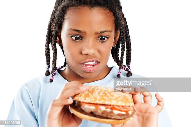 junk food! - ugly girl stock photos and pictures