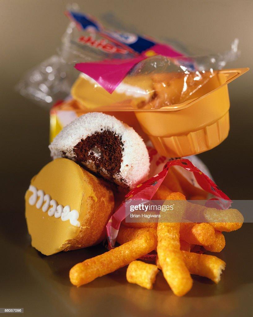Junk food : ストックフォト