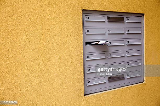junk mail - domestic mailbox stock pictures, royalty-free photos & images