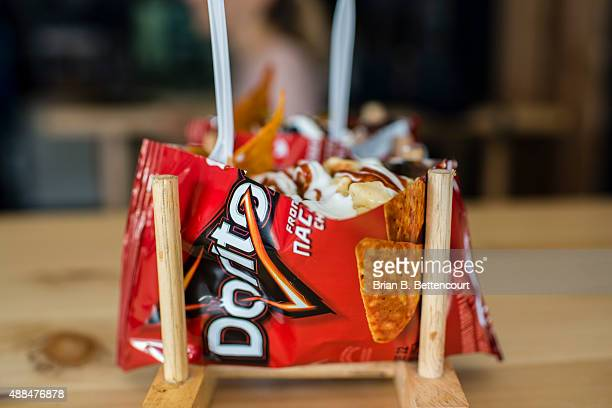 Junked Food Co's signature dish the Pulled Pork Smash Bag uses a Doritos bag stuffed with pulled pork and various ingredient to create a tasty late...