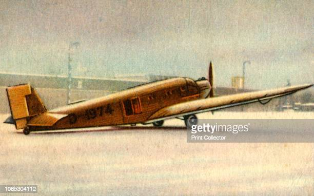 Junkers Ju 52 plane 1932 The Junkers Ju 52 manufactured in Germany from 1931 to 1952 saw both civilian and military service during the 1930s and...