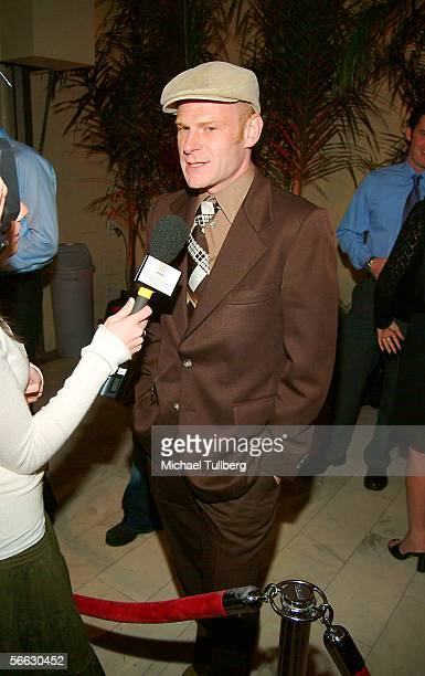 Junkie XL arrives for the world premiere of the new music documentary Coachella at the Orpheum Theater on January 19 2006 in Los Angeles California