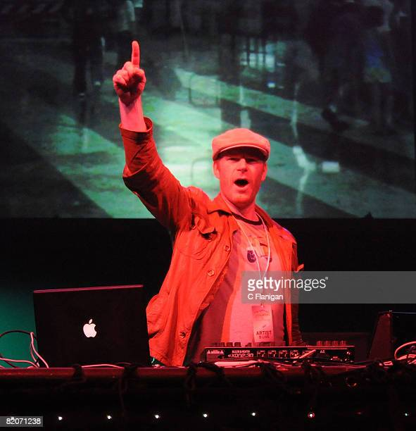 Junkie XL performs on day one of the 2008 Pemberton Music Festival on July 25 2008 in Pemberton BC