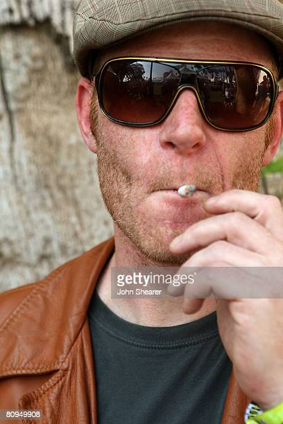 Junkie XL poses during day 2 of the Coachella Valley Music and Arts Festival held at the Empire Polo Field on April 26 2008 in Indio California