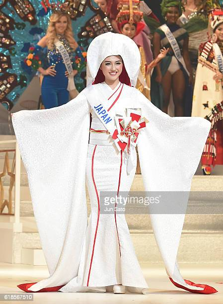 Junna Yamagata of Japan during the 56th Miss International Beauty Pageant at Tokyo Dome on October 27 2016 in Tokyo Japan