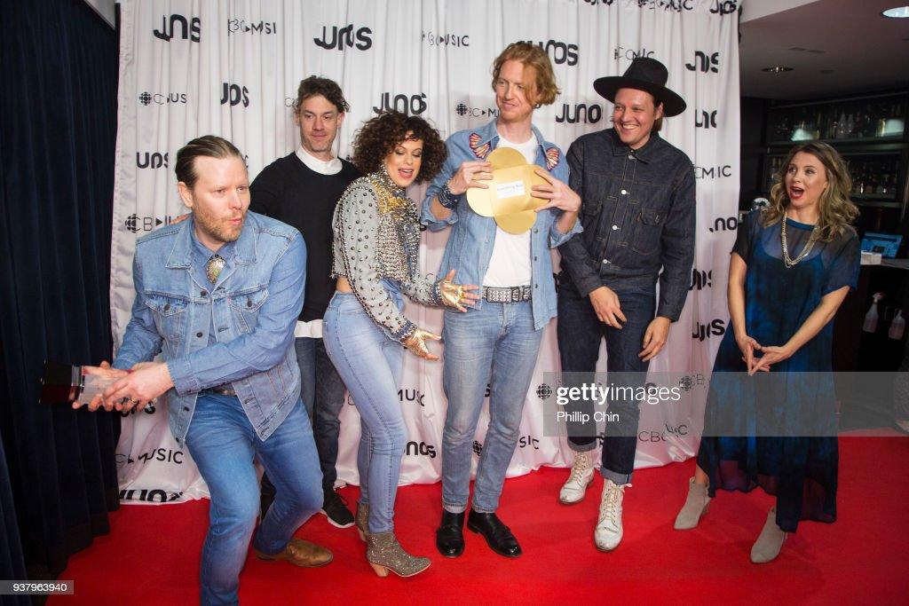 The 2018 JUNO Awards - Press Room