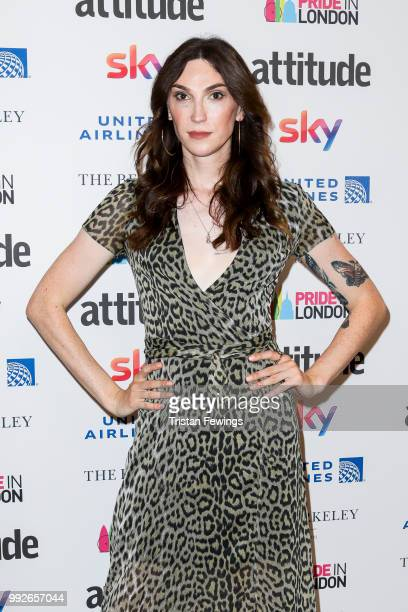 Juno Dawson attends the Attitude Pride Awards 2018 at The Berkeley Hotel on July 6 2018 in London England