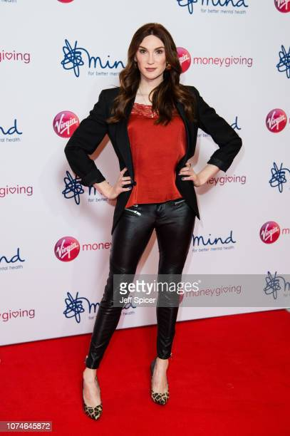 Juno Dawson attends the Virgin Money Giving Mind Media Awards 2018 at Queen Elizabeth Hall on November 29 2018 in London England