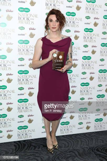 Juno Dawson author of 'Clean' attends the National Book Awards at RIBA on November 20 2018 in London England