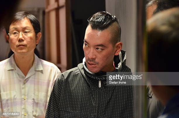 Juno Mak on the Hong Kong film set of Rigor Mortis a horror film about vampires The film is Mak's directorial debut and is released in Hong Kong on...