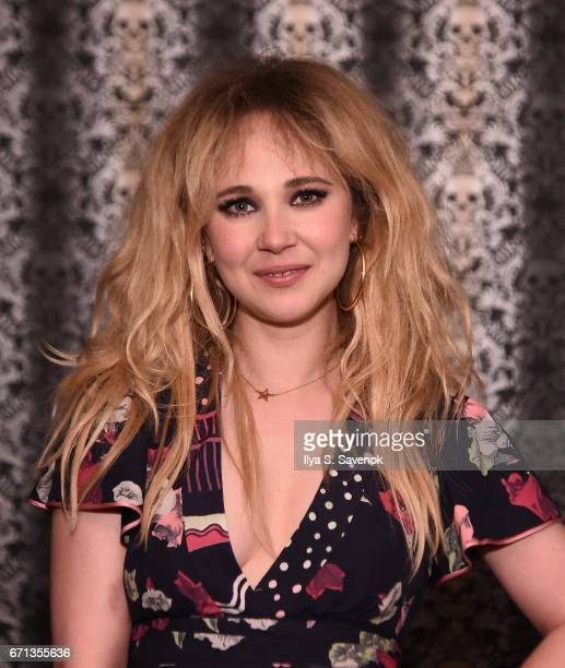 Juno Temple attends the 2017 Tribeca Film Festival After Party For One Percent More Humid sponsored by Bulleit Bourbon at The Chester on April 21...