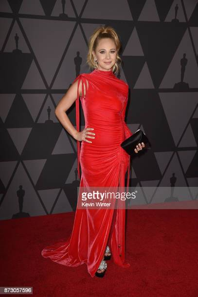 Juno Temple attends the Academy of Motion Picture Arts and Sciences' 9th Annual Governors Awards at The Ray Dolby Ballroom at Hollywood Highland...