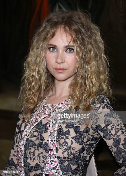 Juno Temple attends the Christian Dior Spring Summer 2017 Cruise Collection at Blenheim Palace on May 31 2016 in Woodstock England
