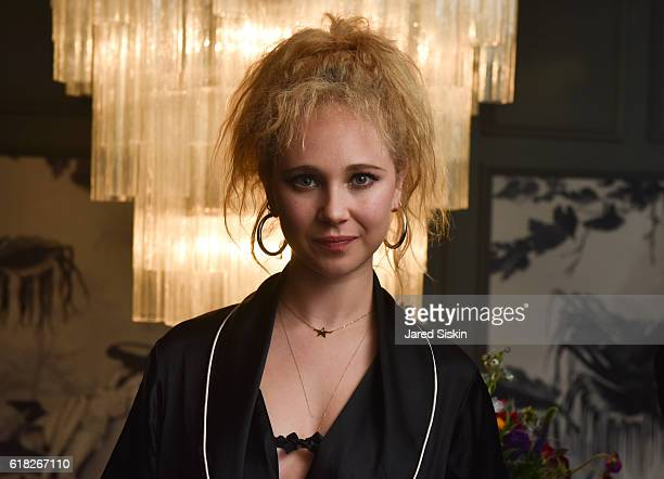 Juno Temple attends the Exclusive 30th Anniversary Screening of David Lynch's 'Blue Velvet' AfterParty Sponsored by Agent Provocateur at Agent...