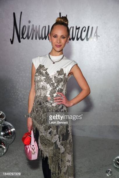 """Juno Temple attends the Neiman Marcus Celebrates The Launch Of Their """"Celebrate Big, Love Even Bigger"""" Holiday Campaign With 2021 Fantasy Gift Event..."""