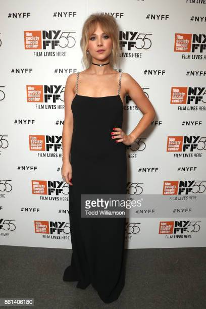 Juno Temple attends the NYFF premiere of 'Wonder Wheel' at Alice Tully Hall on October 14 2017 in New York City