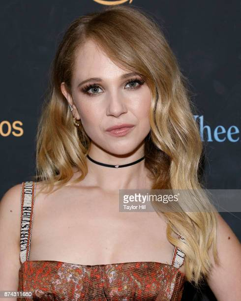Juno Temple attends the premiere of 'Wonder Wheel' at Museum of Modern Art on November 14 2017 in New York City